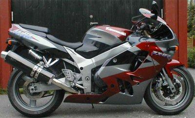 Kawasaki ZX-9 R Ninja
