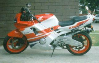Honda CBR 600 F (reduced effect)