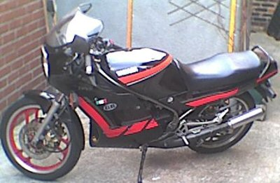 Yamaha RD 350 F (reduced effect)