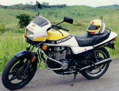Honda CB 450 N (reduced effect)