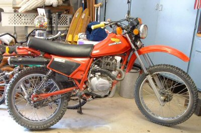 Honda XL 185 S