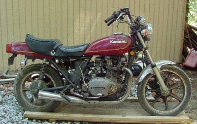 Kawasaki Z 750 LTD Twin