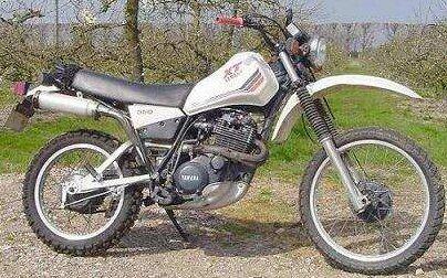 Yamaha XT 550 (reduced effect)