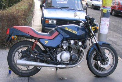 Suzuki GS 550 M Katana