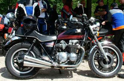 Honda CB 650 C (reduced effect)
