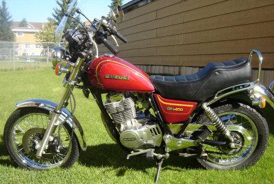 Suzuki GN 400 L