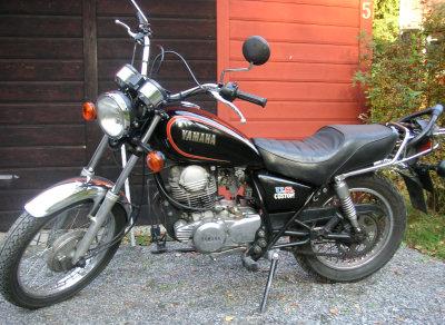 Yamaha SR 250 US. Custom