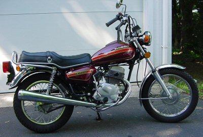 Honda CM 185 T