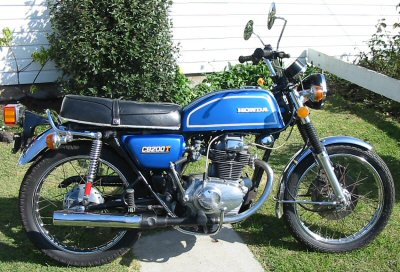 Honda CB 200 Disc