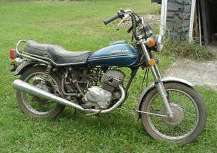 Honda CB 100 SS
