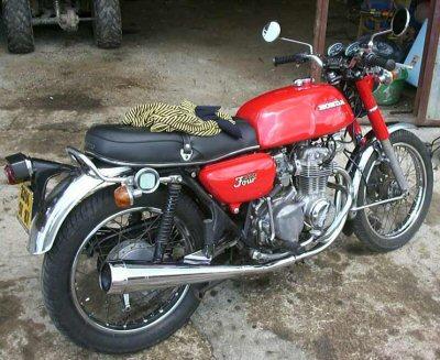 Honda CB 350 disc