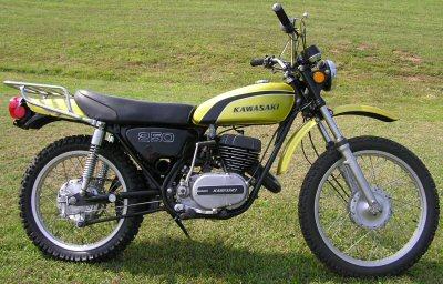 Kawasaki 250 F 11
