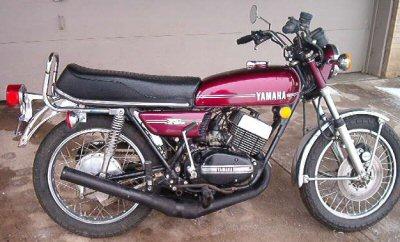 Yamaha RD 350 (6-speed)