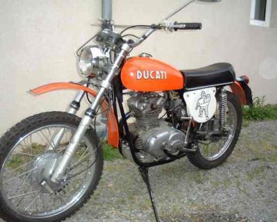 Ducati 125 Scrambler