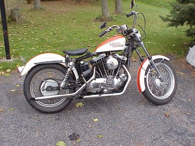 Harley-Davidson XLCH 1000-Sportster
